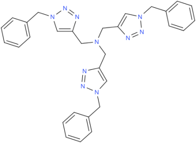 Tris[(1-benzyl-1H-1,2,3-triazol-4-yl)methyl]amine